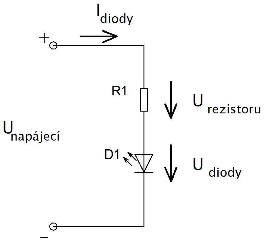 dioda s odporem